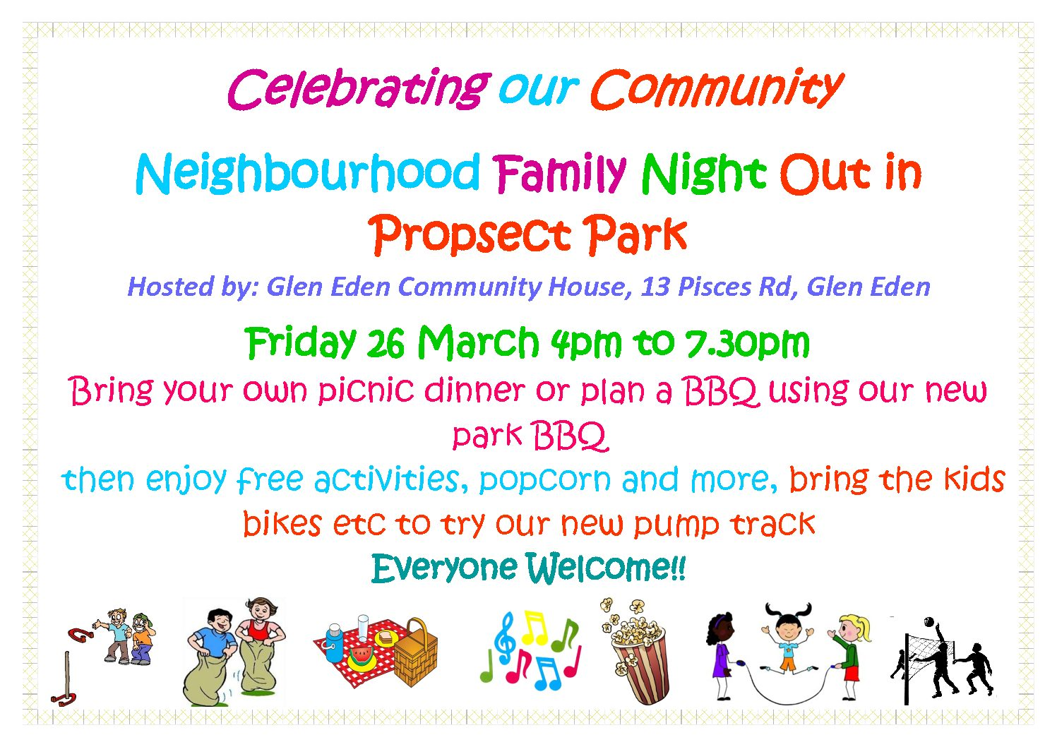 Celebrating our Neighbour hood – Family Night Out